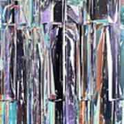 Piano Keys Abstract Art Print