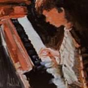 Piano Lesson Art Print