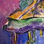 Piano Purple - Cropped Art Print