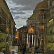 Piazza Del Duomo Art Print