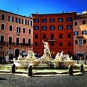 Piazza Navona 4 Art Print