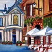 Piazza Romana Art Print