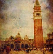 Piazza San Marco - Venice Art Print