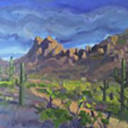 Picacho Peak Art Print