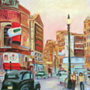 Picadilly  Art Print