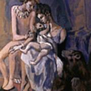 Picasso: Acrobats, 1905 Art Print