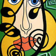 Picasso Influence Art Print