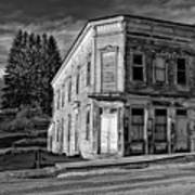 Pickens Wv Monochrome Art Print