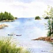 Pickering Cove Art Print