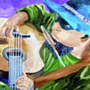 Pickin N Harmony Art Print