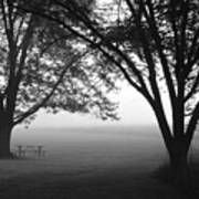 Picnic In The Fog Art Print
