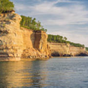 Pictured Rock Art Print