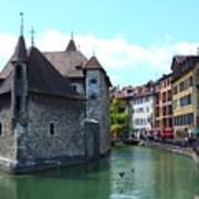 Picturesque Annecy, France Art Print