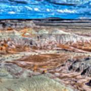 Picturesque Blue Mesa Art Print