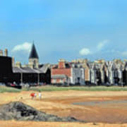 Picturesque North Berwick Scotland Art Print