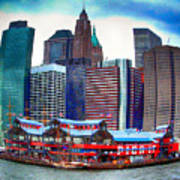 Pier 17 Ny Ny Art Print