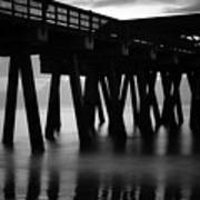 Pier Abstract Art Print