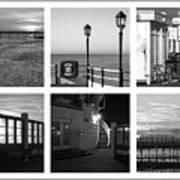 Pier Moods Art Print