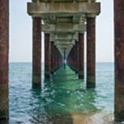 Pier On The Outer Banks Art Print