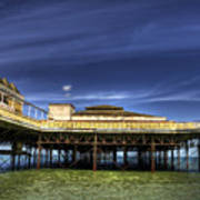 Pier Structure Art Print