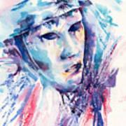 Pieroette Art Print
