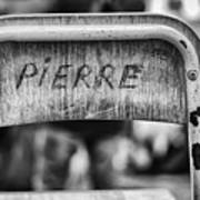 Pierre Art Print