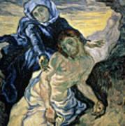 Pieta Print by Vincent van Gogh