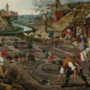 Pieter Breughel The Younger Art Print