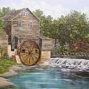 Pigeon Forge Mill Art Print