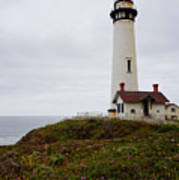Pigeon Point Lighthouse II Color Art Print