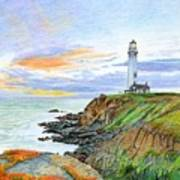 Pigeon Point Sunset Art Print