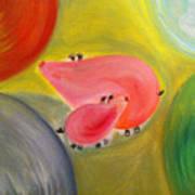 Piggy Haven Art Print