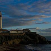 Pigon Point Lighthouse Art Print