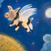 Pigs Might Fly Art Print