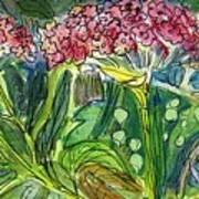Piinta The Butterfly Flower Art Print
