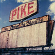 Pike Drive-in Art Print