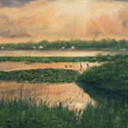 Pike Lake Art Print