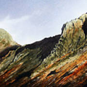 Pike O' Stickle And Loft Crag Art Print