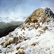 Pike O' Stickle Art Print