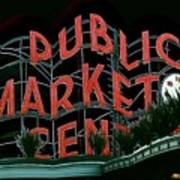 Pike Place Market Entrance 5 Art Print