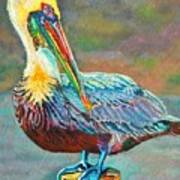 Pile High Pelican Art Print