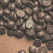 Pile Of Chocolate Chip Chunks Art Print
