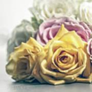 Pile Of Roses Art Print