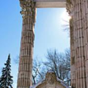 Pillars Of Hercules - The Guild Inn Art Print
