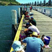 Pilot Bay Beach 6 - Mount Maunganui Tauranga New Zealand Art Print