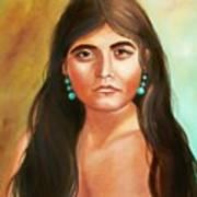 Pima Maiden Art Print