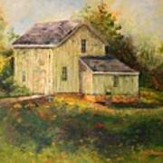 Pine Hill Barn Art Print