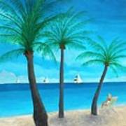 Pine Island Lady  Art Print