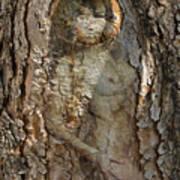 Pine Tree Nymph Art Print
