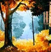 Pine Wood Art Print